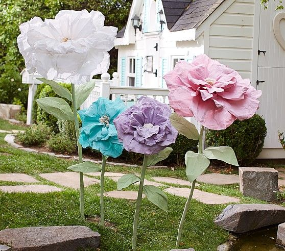 Oversized Flower Decor Pottery Barn Kids Easter