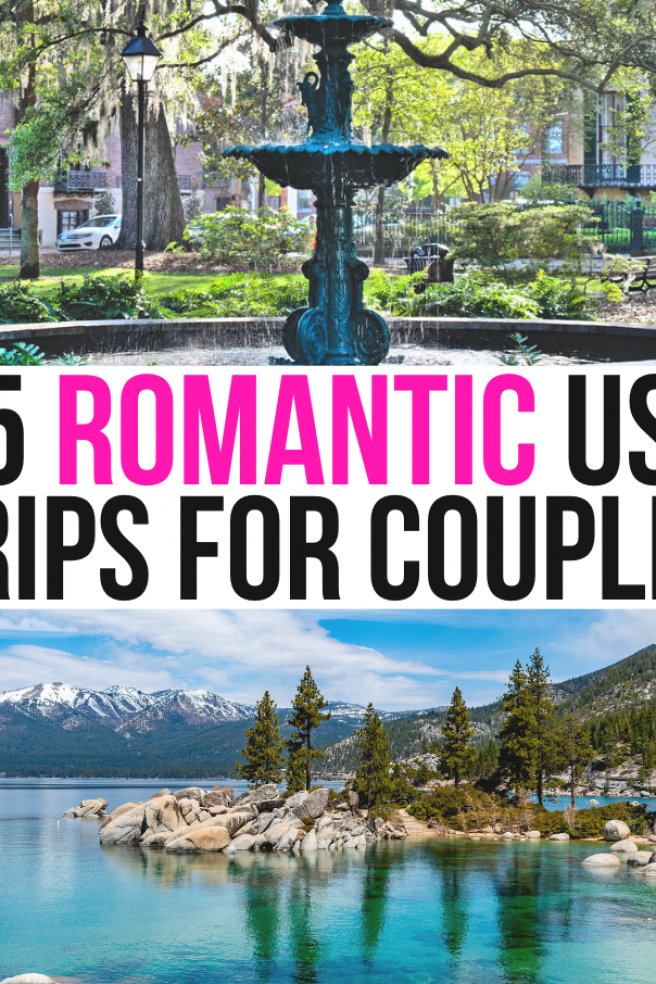 Hoping For A Weekend Getaway With Your Sweetie Soon Check Out These Romantic Usa Getaways In 2020 Weekend Getaways For Couples Honeymoon Destinations Usa Usa Getaways
