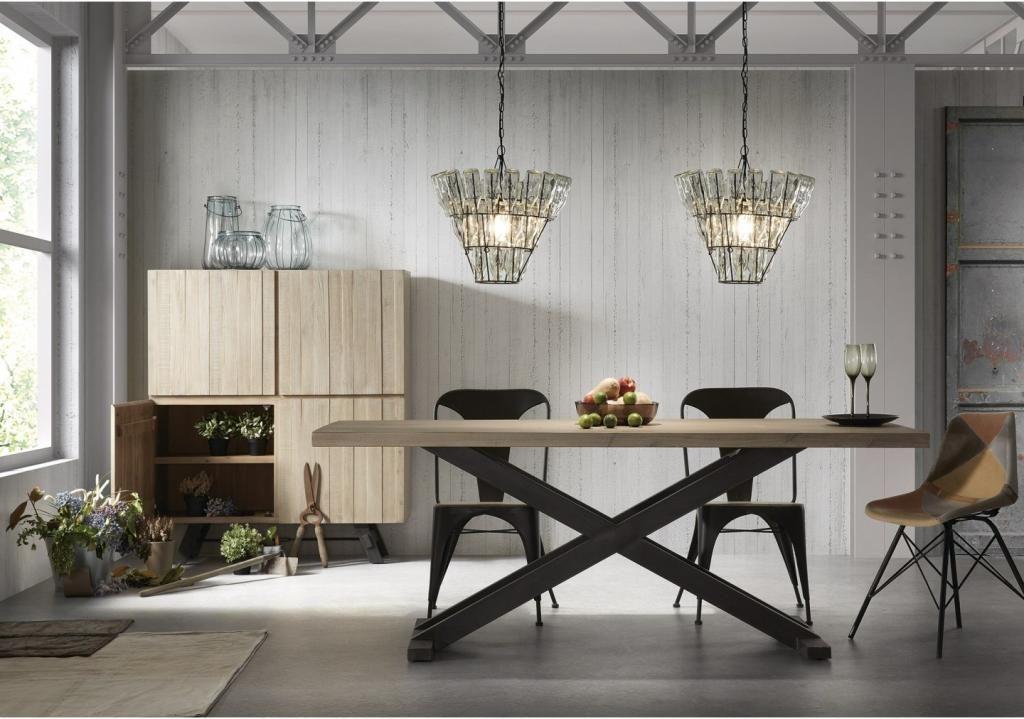 Glazen Meubels ~ Laforma hanglamp bliss flessen glas metaal zwart design meubelen