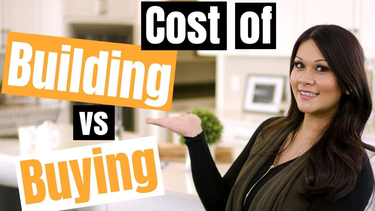 Building vs buying a house in 2019 what are the costs