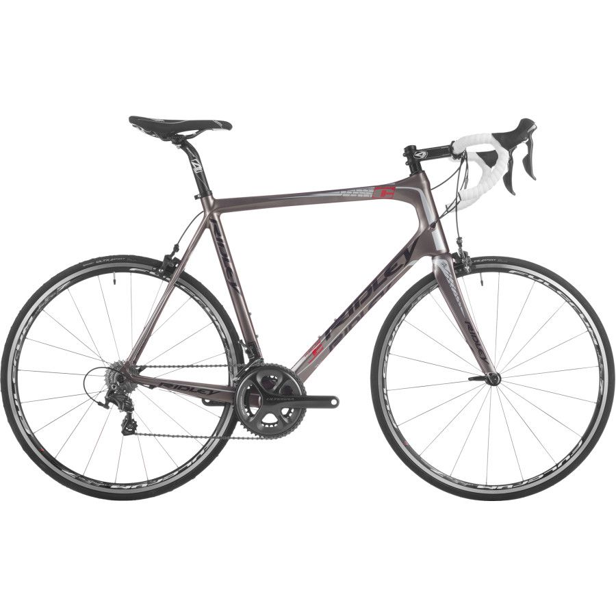c37983ffd43 Ridley Fenix Ultegra Road Bike - Ridley built the Fenix with a Shimano  Ultegra 6800 11-speed groupset. The drivetrain is comprised of a Rotor 3DF  52/36t ...