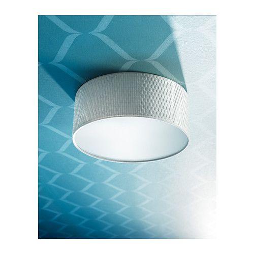 ALÄNG Ceiling lamp white | Ikea ceiling light, Ceiling