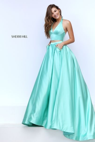 The Green Sherri Hill 50053 Gown Picture