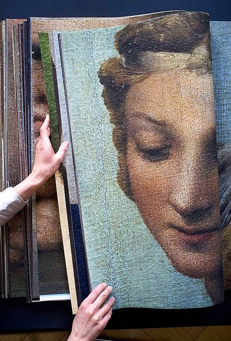For the love of Books...Katharina Gaenssler's book of photographs for the 500th anniversary of Raphael's masterpiece The Sistine Madonna, 2012.