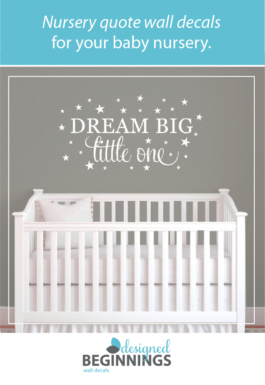 Nursery Wall Sayings For Your Baby Decor