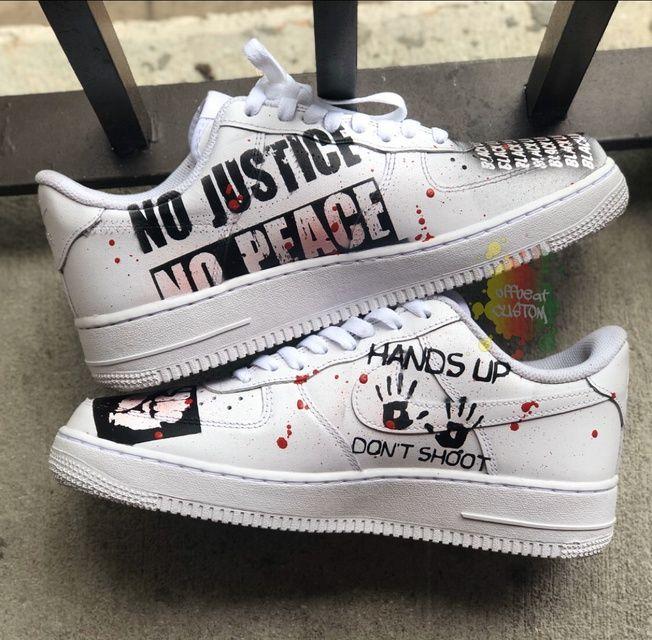 Black lives matter, Nike shoes air force