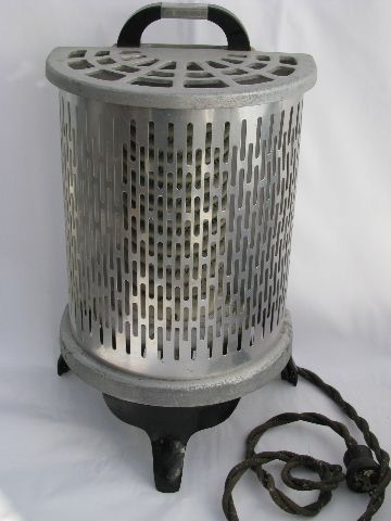 Working 1930s Vintage Electric Heater Vintage Devices