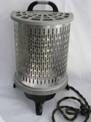 Working 1930s vintage electric heater estufas de le a de for Estufa lena calefaccion radiadores