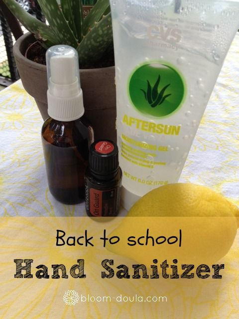 Use Hand Sanitizer As Emergency Deodorant Hand Sanitizer