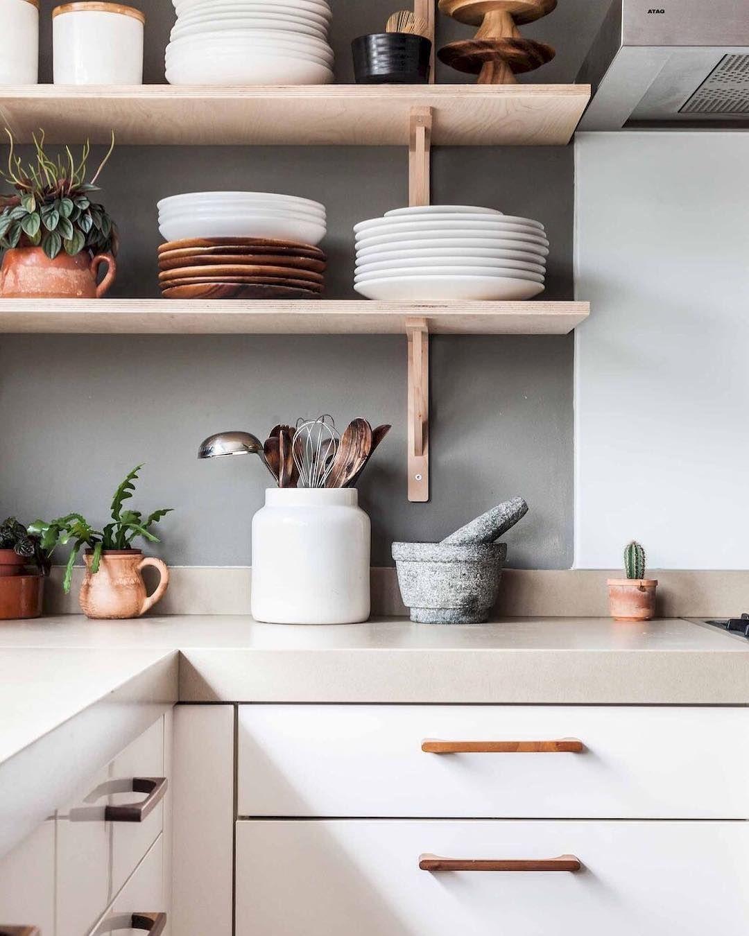 Open Kitchen Cocina Con Repisas Abiertas Cocina Kitchen Home