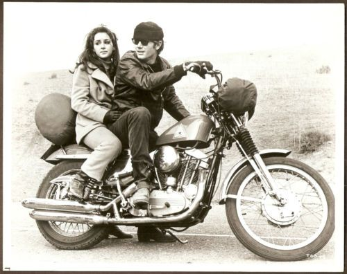 MICHAEL PARKS HARLEY DAVIDSON SPORTSTER 1200 MOTORCYCLE PHOTO THEN CAME BRONSON