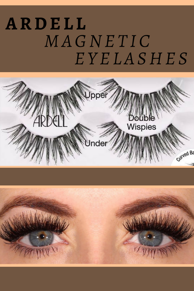 ea9bea502f6 I just got my first pair and they are awesomw! I think everyone should try  these! Ardell's Double Wispies magnetic Eyelashes! Best part Is 4 magnets  instead ...