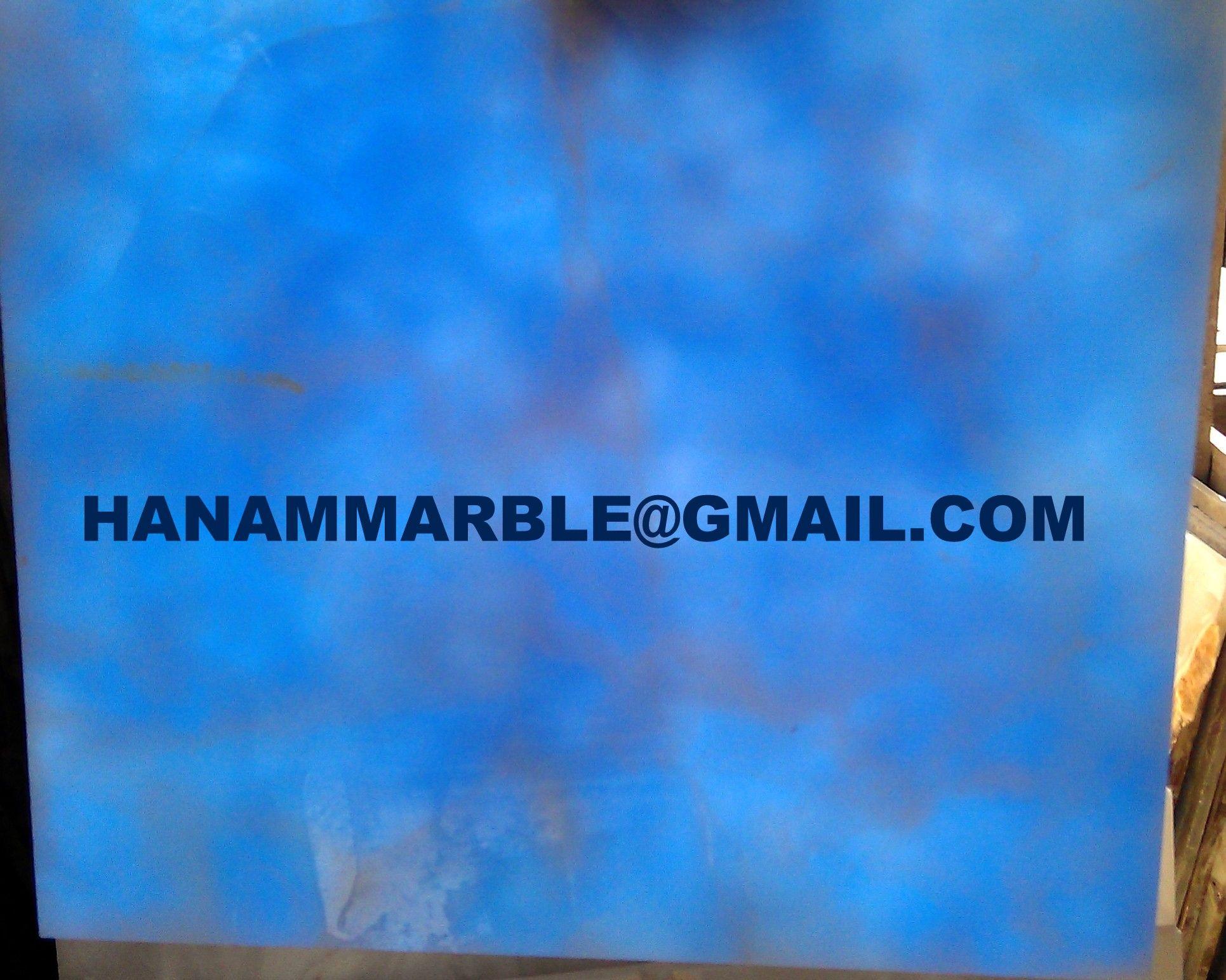 Blue Onyx Tiles 12 x 12 x 3/8\