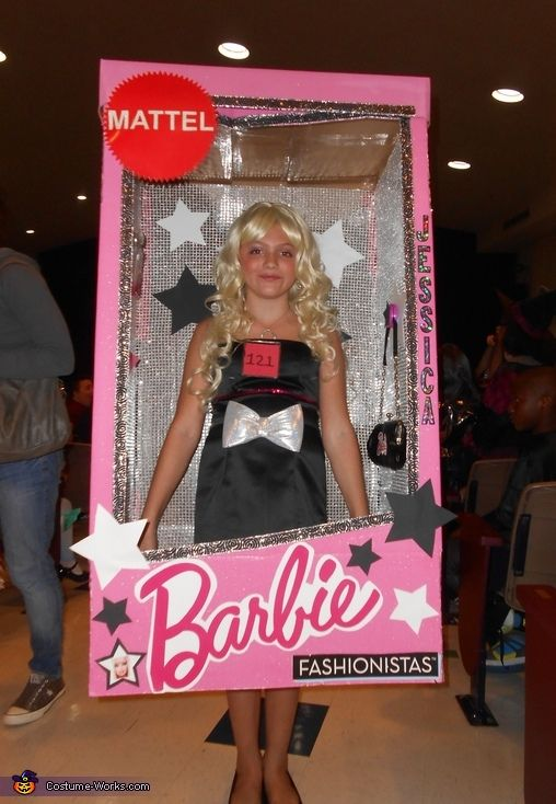 Barbie Halloween Costume Kids.Barbie In A Box Halloween Costume Contest At Costume Works Com In