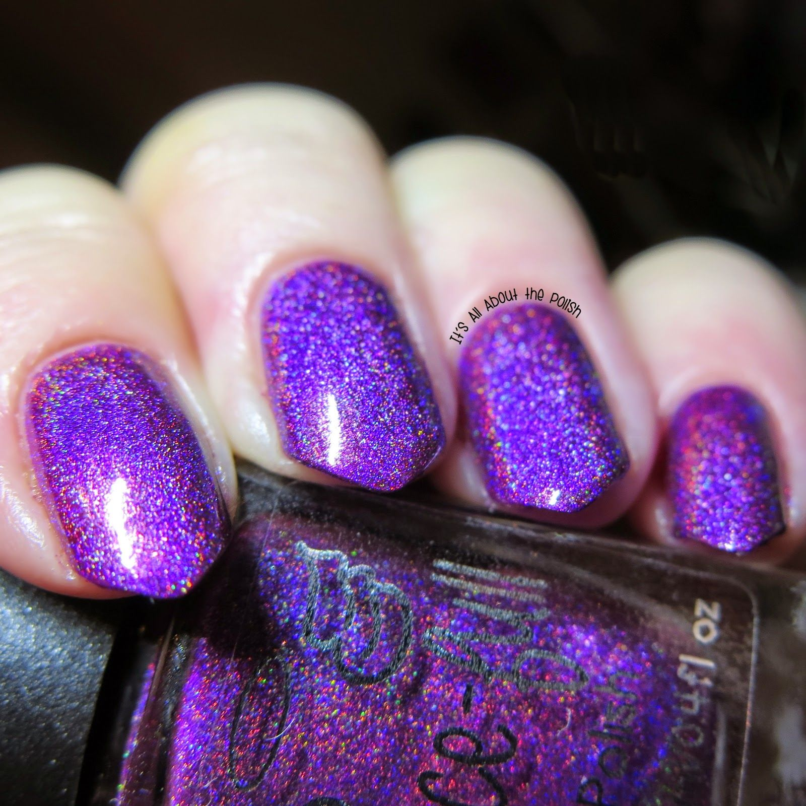 Contemporary Dark Violet Nail Polish Picture Collection - Nail Art ...