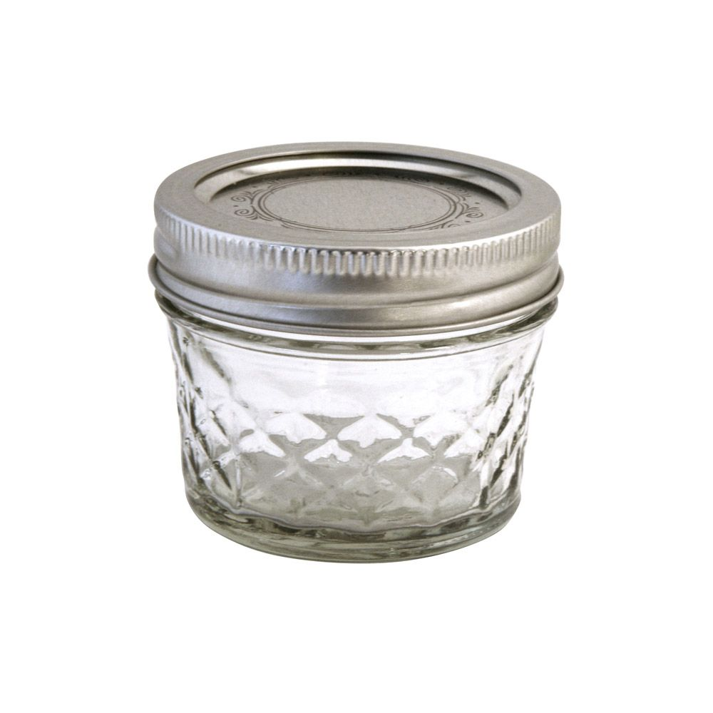 Ball Jelly Jar Quilted 4 Oz 1 75 Ea Glass Canning Jars Ball