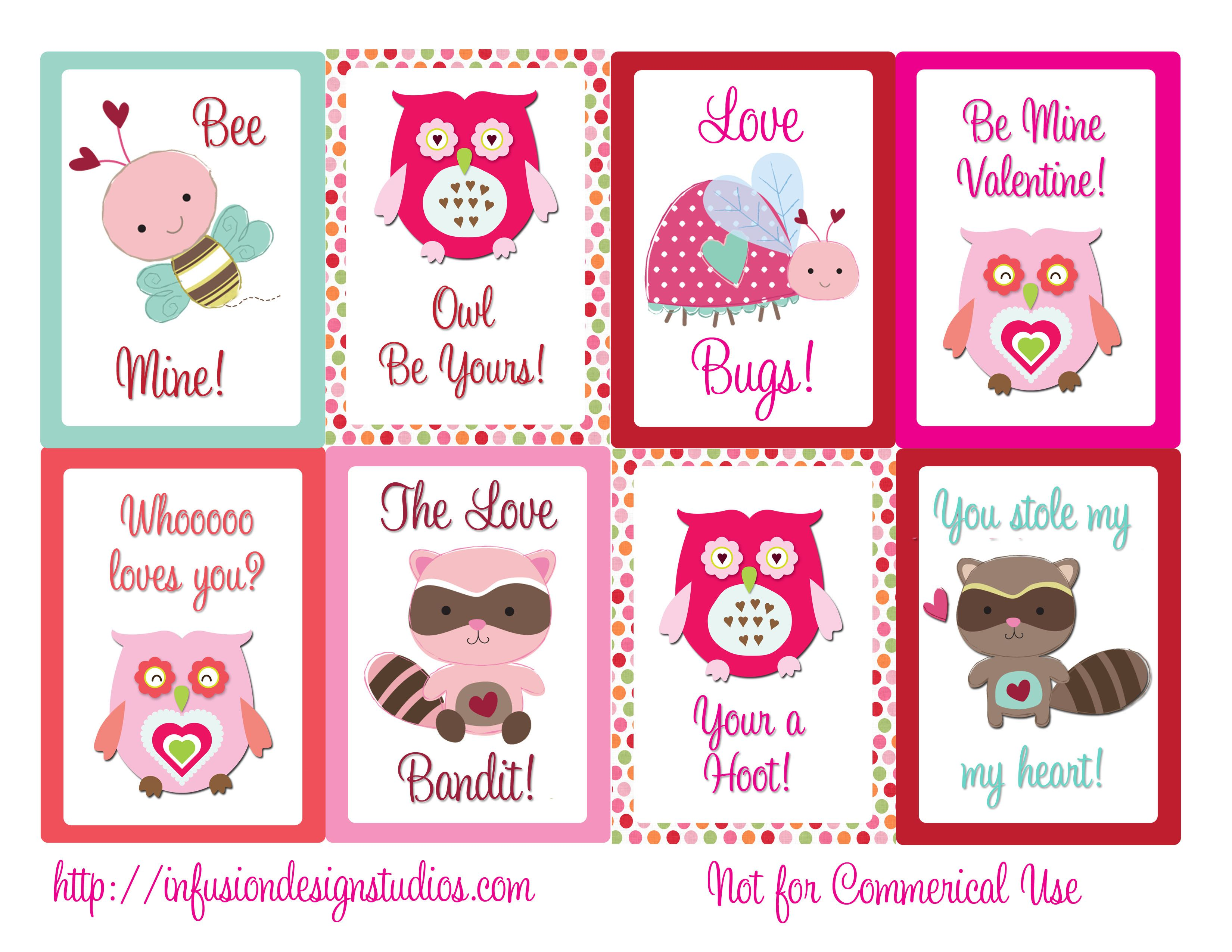 Happy Valentine S Day Cards Printable