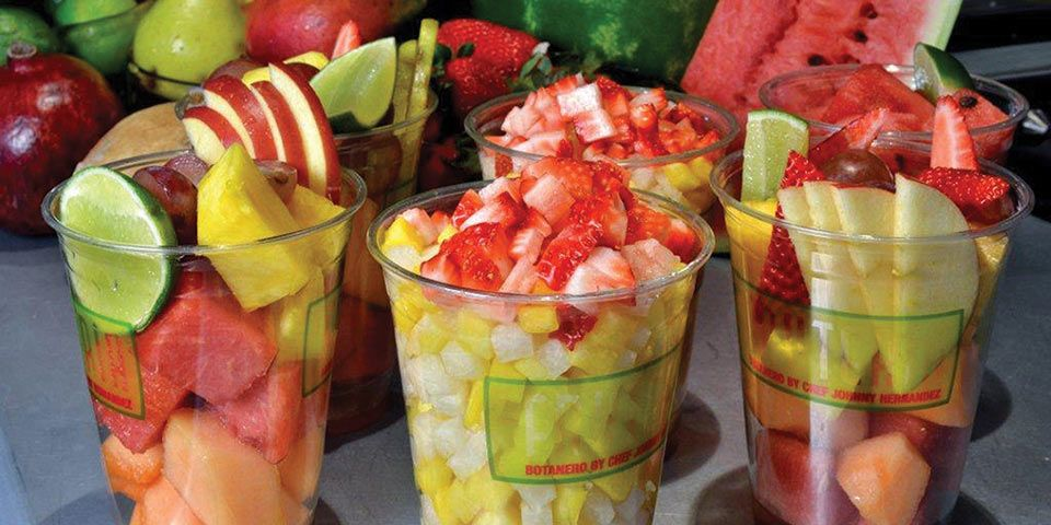 images for fruit stands in mexico | Fruit Cups at The Fruteria ...