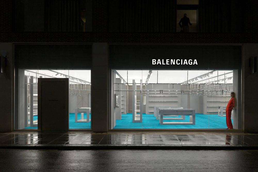 London Balenciaga Store Opening Superfuture Balenciaga Store Balenciaga London