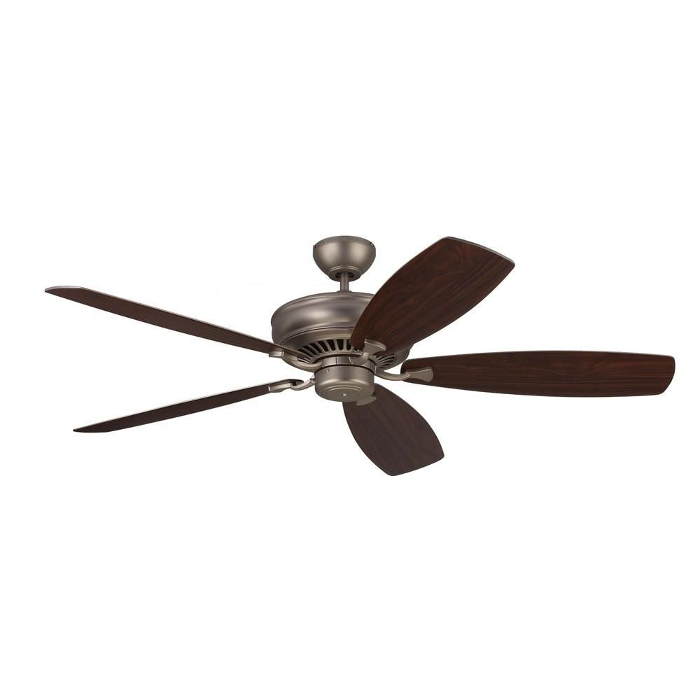 Monte Carlo Bonneville Max 60 In Brushed Pewter Ceiling Fan 5bhm60bp The Home Depot Ceiling Fan White Ceiling Fan Monte Carlo
