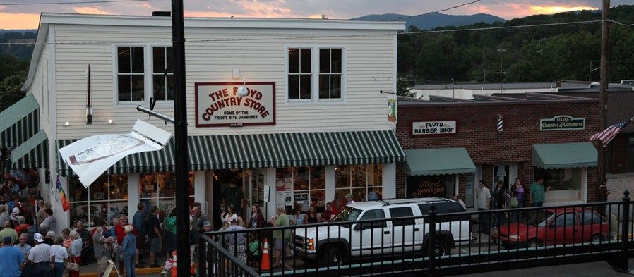 A great little country store in the blue ridge mountains