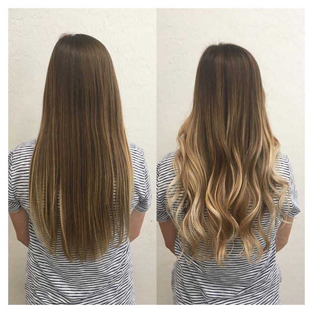 Befores And Afters Gorgeous Soft And Totally Sun Kissed Best Hair Salon Hair Styles Hair