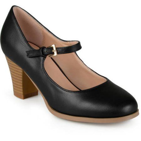 Women's Mary Jane Classic Pumps, Size: 6, Black | Classic pumps and Products