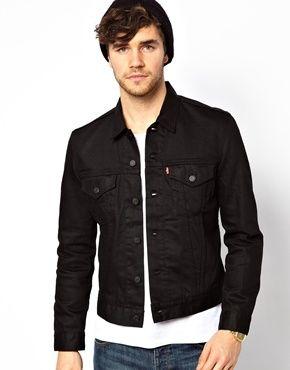 Levis Slim Fit Denim Jacket [£50/£95] | Clothes | Pinterest