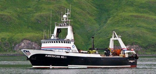 America No 1 Boat Fishing Vessel Sea Fishing