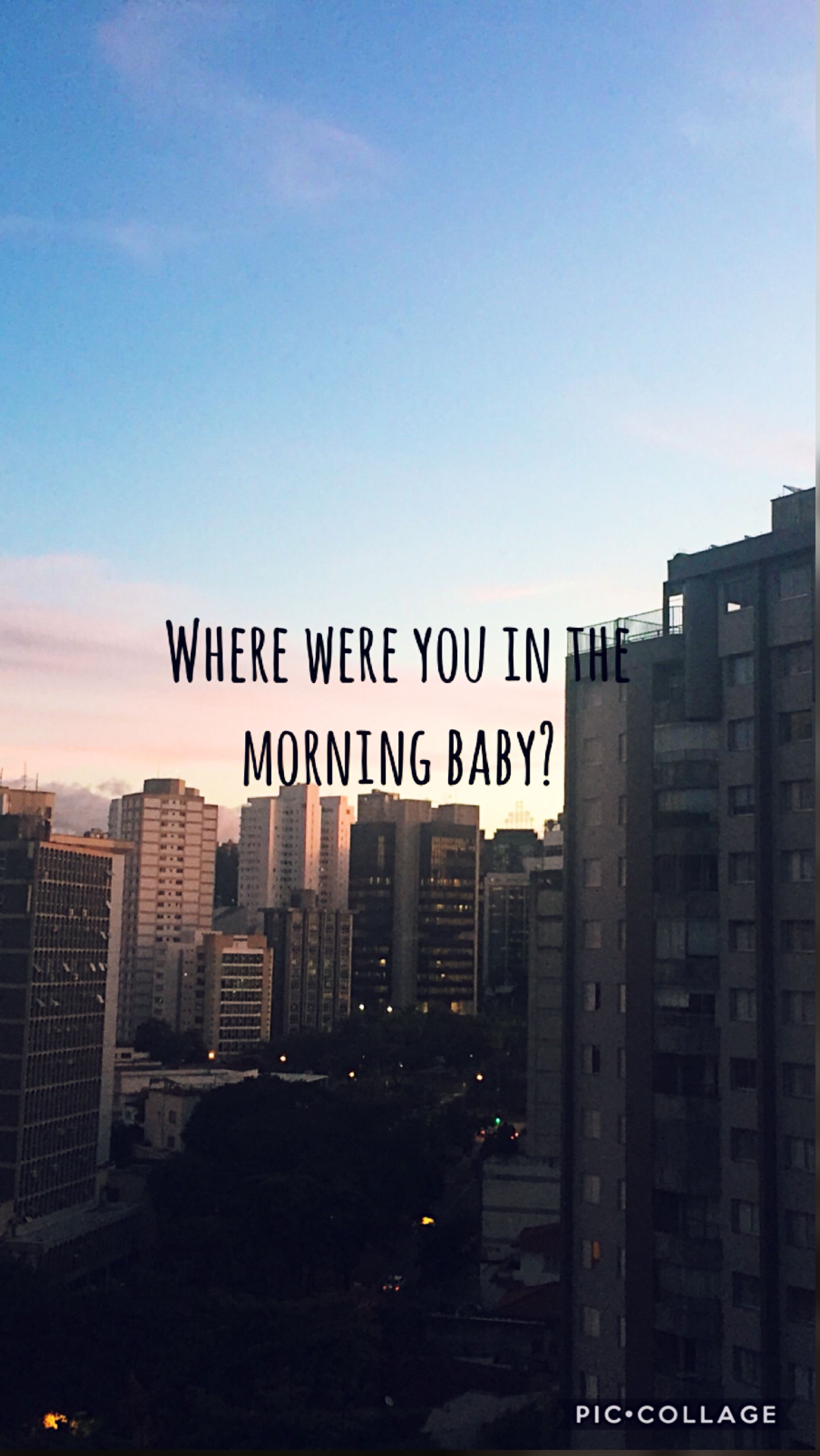 Where are you in the morning shawn mendes