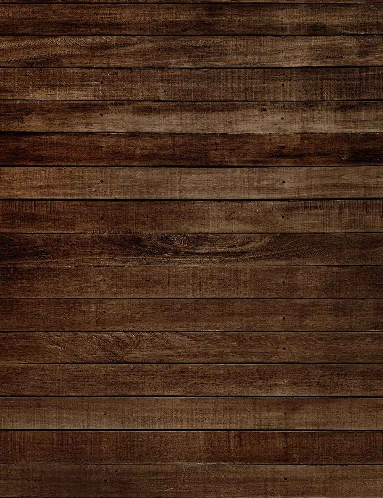 Deep Brown Wood Floor Texture Backdrop For Photography In