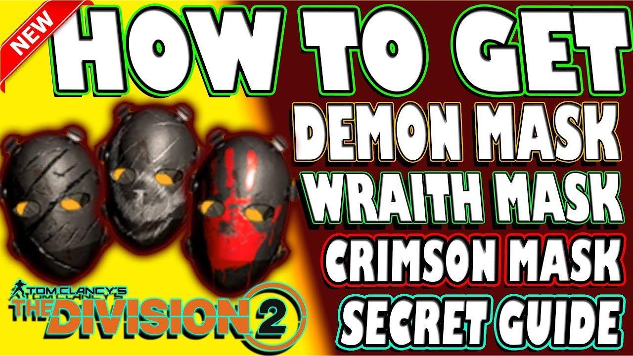 How To Get Insane Demon Mask Wraith Mask Crimson Mask The