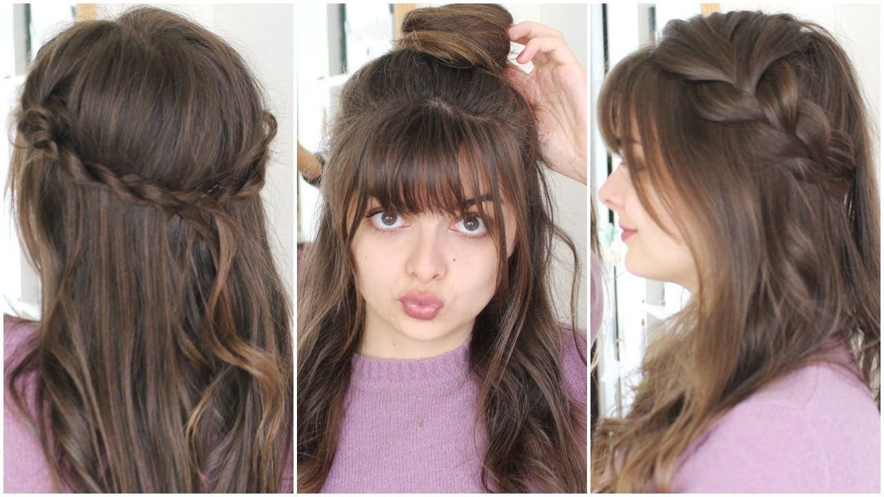 Three Five Minute Hairstyles Back To School Five Minute