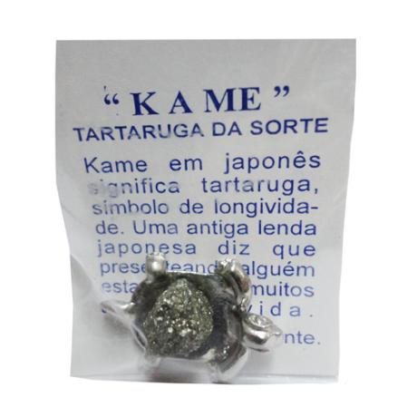 http://maniasemanias.com/produto/kame-tartaruga-da-sorte - Kame em japonês significa tartaruga, símbolo de longividade. Uma antiga lenda japonesa diz que presenteando alguém esta lhe dará muitos anos de vida.