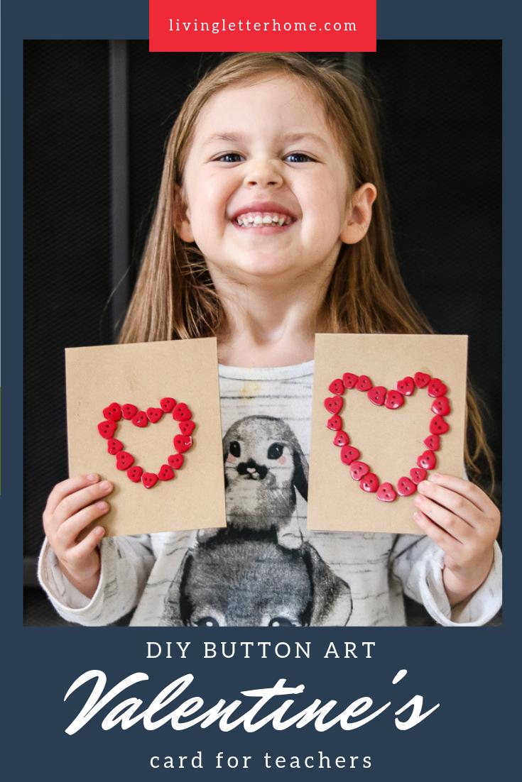DIY Teacher Valentine's Day Card | Teacher valentine, Easy ...