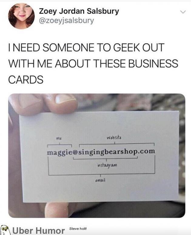 This business card   Hey That\'s Useful/Kewl/Sad Stuff   Pinterest ...