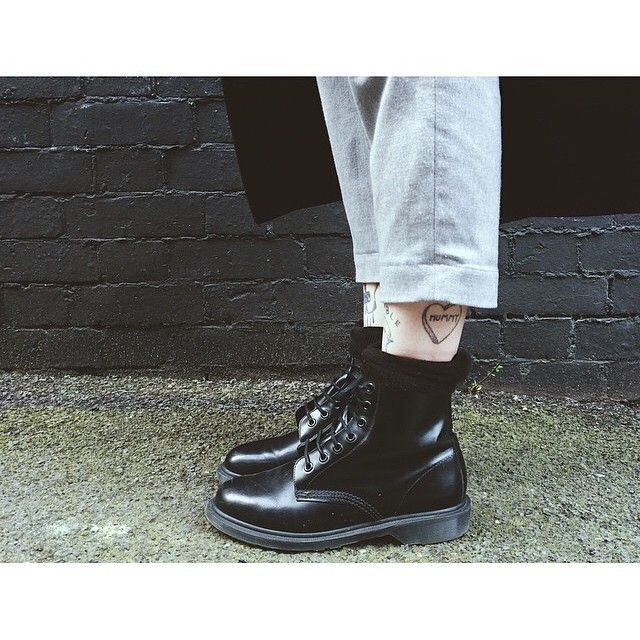 Dr martens 1460 pascal boanil brush | Dr martens, Boots, All