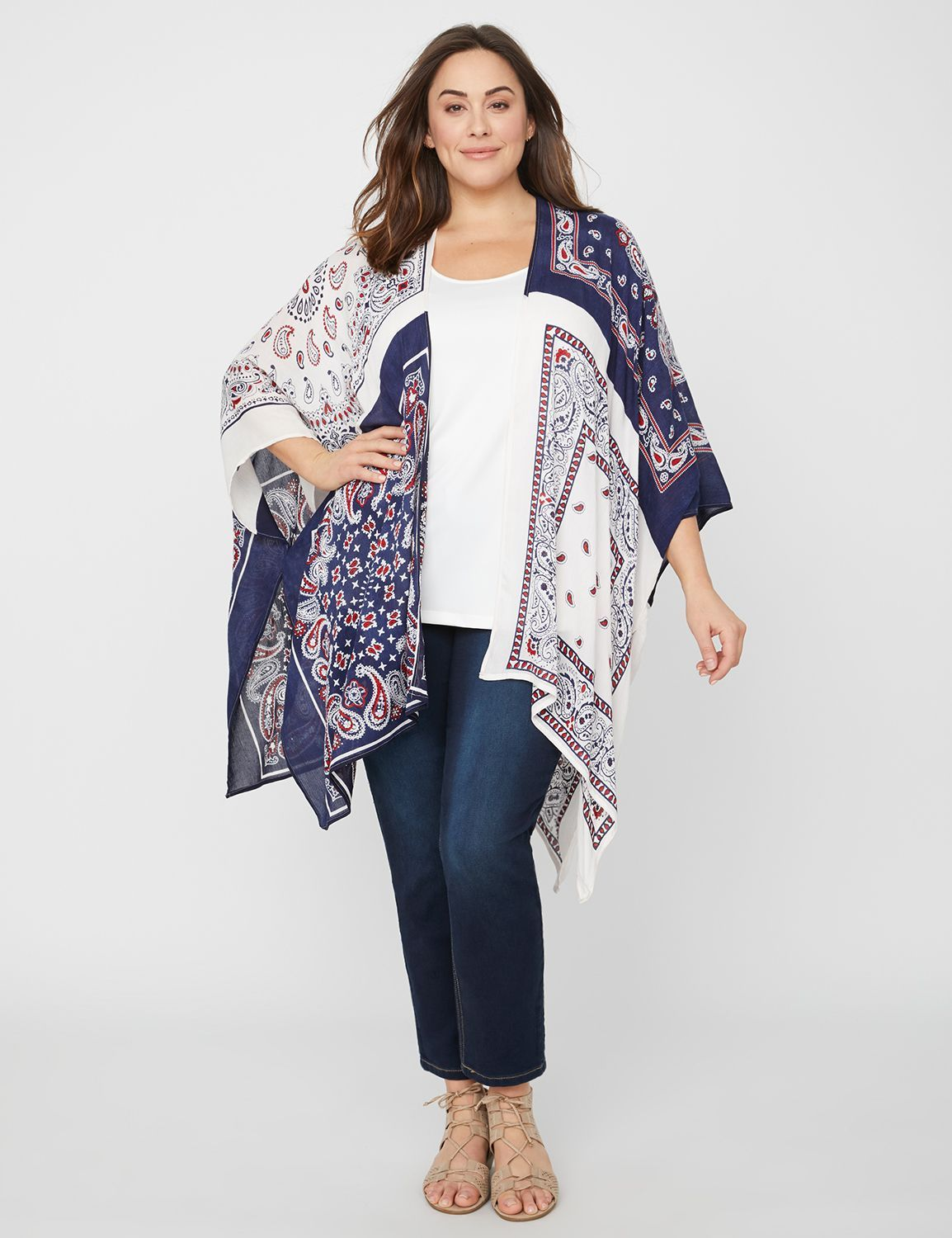 93c0e017d39 Shop for a Bandana Kimono at Catherines.com. Read reviews and browse our  wide selection to match any budget or occasion.