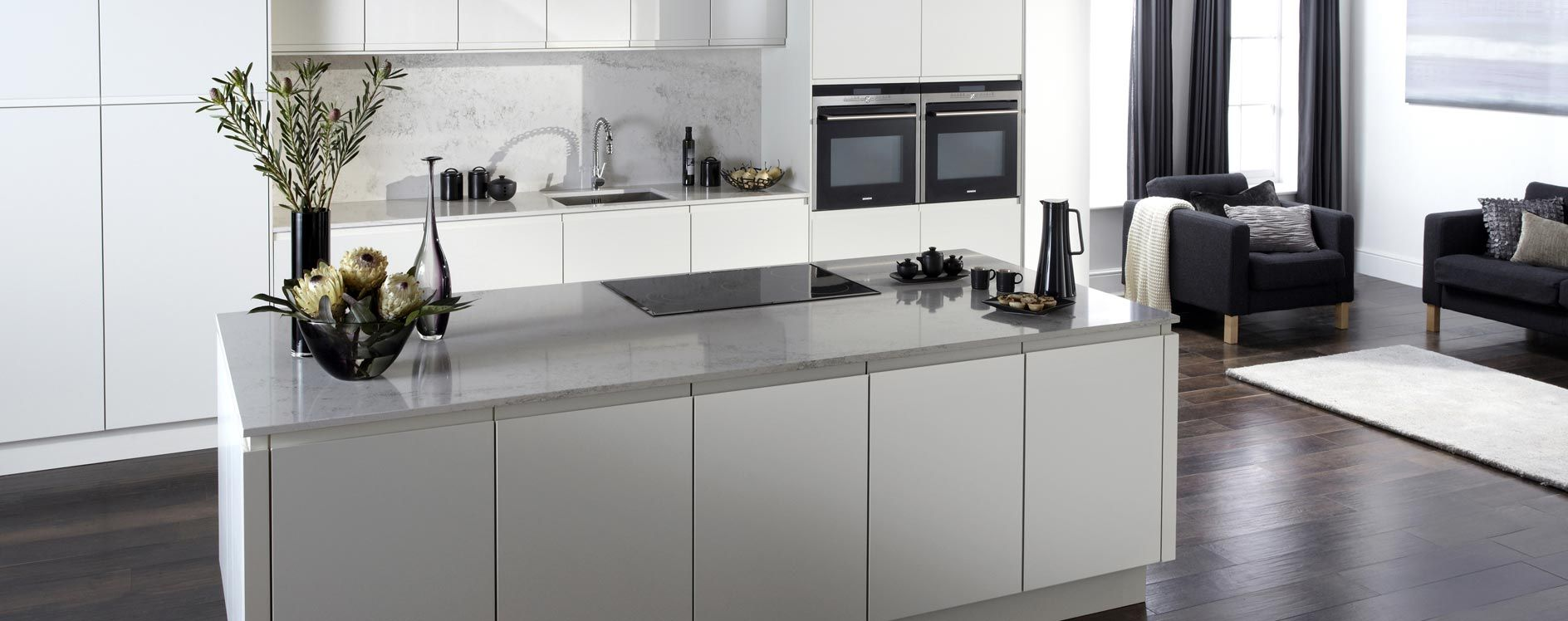 Malmo-Matt-Porcelain winchester kitchens islands