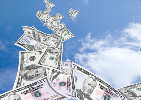 Quick Money Is Falling From The Sky Money Forex Marketing Set