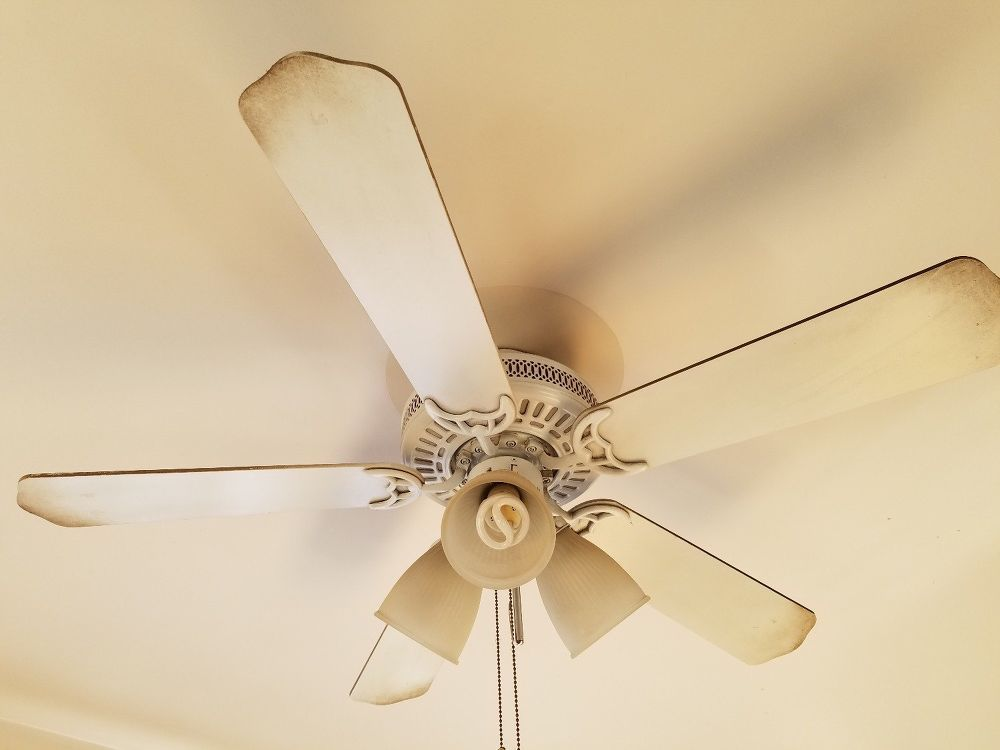 How To Paint A Diy Ceiling Fan Painting Fans