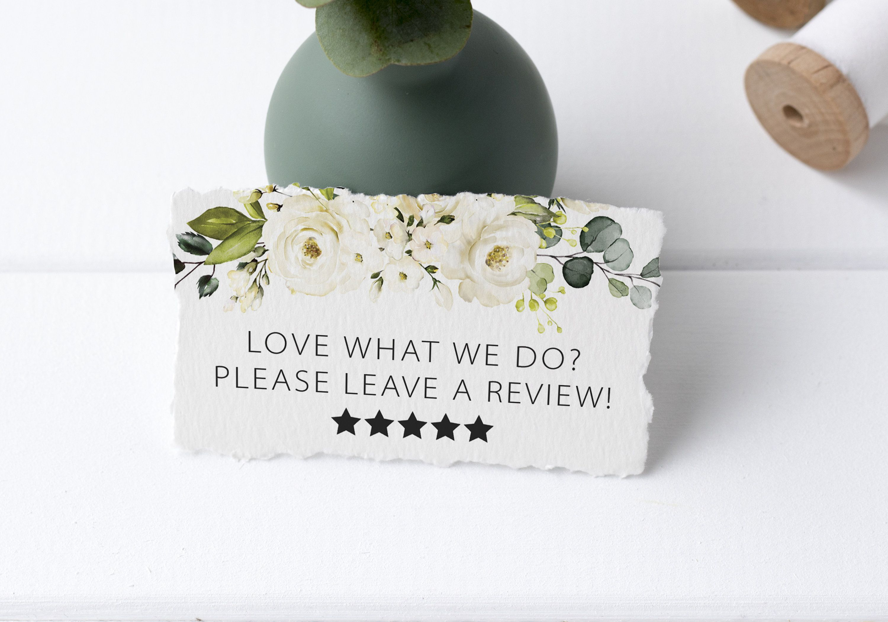 Review Request Cards Etsy Review Tags Leave A Review Etsy Etsy Reviews Jewelry Display Cards Card Tags