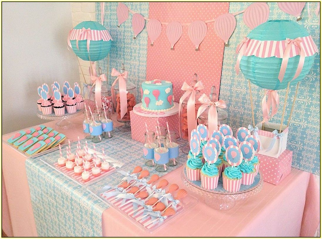 Hot Air Balloon Party Decorations 1st Birthday Pinterest Festa