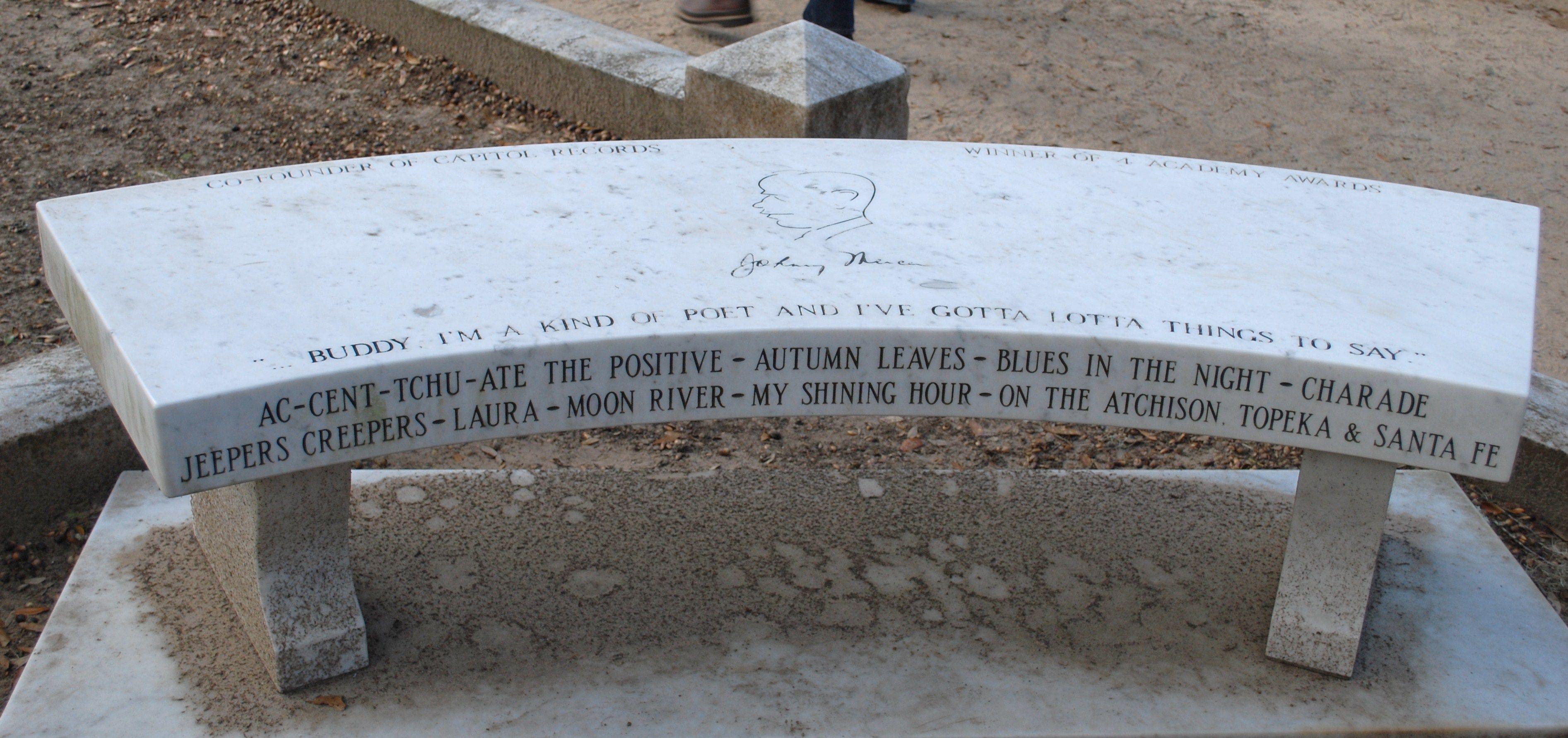Johnny Mercer Grave Bonaventure Cemetery Savannah Ga Photo By