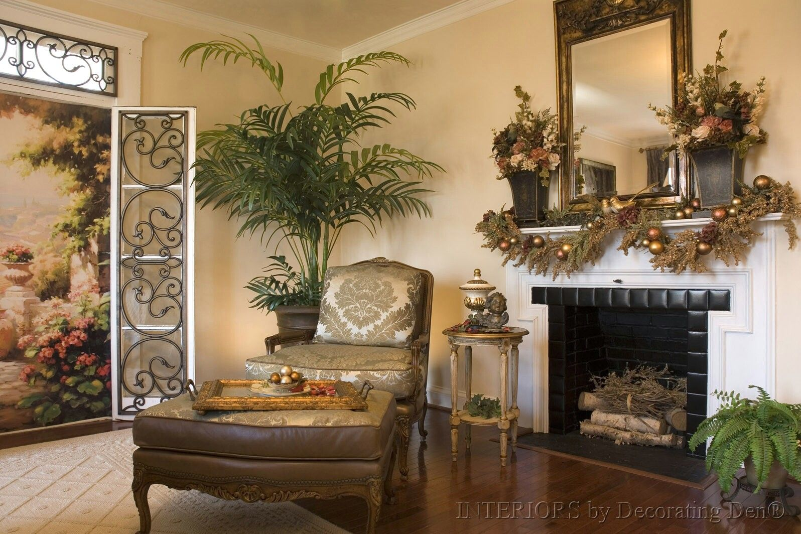 Traditional Living Room Traditional Living Room Design With Brick - Traditional living room designs