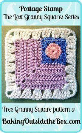 Granny square kolaborasi buttons cuantik | pola rajutan crochet ...