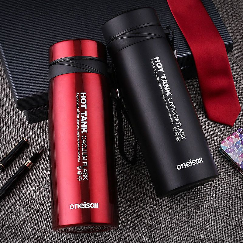 900ml Stainless Steel Vacuum Flask Water Bottle Thermos