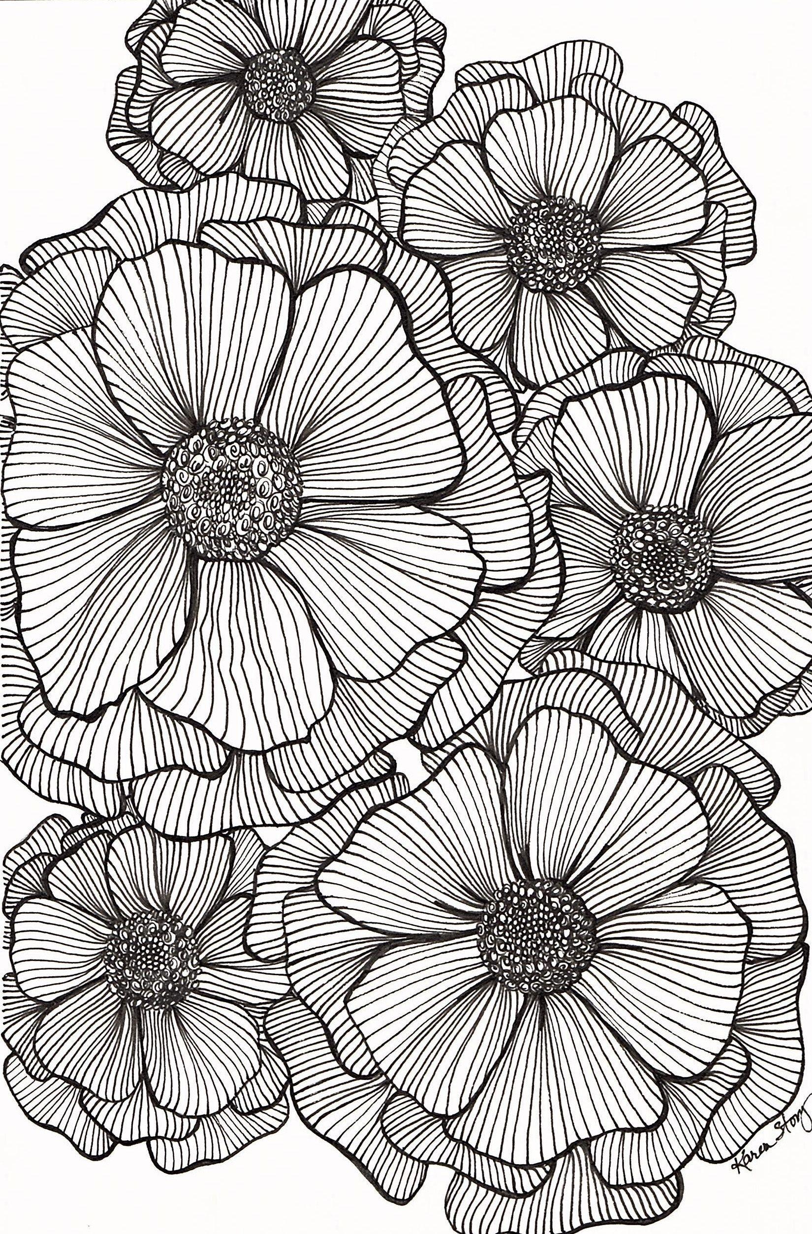 Картинки графика цветы, красивые любви