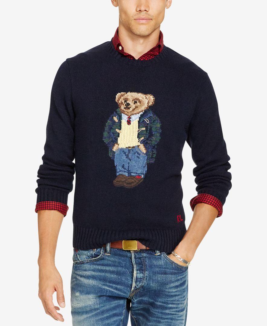 ba651769b Polo Ralph Lauren Men's Big & Tall Polo Bear Sweater | My Style in ...