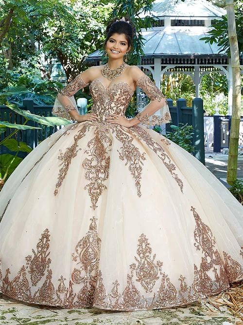 Vizcaya by mori lee 89255 quinceanera dress